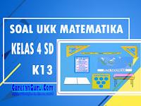 Soal PAT / UAS Matematika Semester 2 Kelas 4 SD K13