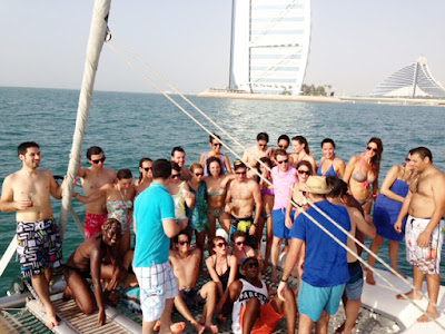 Bachelor Party In Yachts Dubai