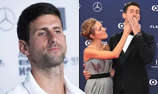 image result for Novak Djokovic and wife test positive for Coronavirus