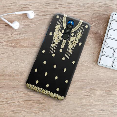 Mockup Custom Case 3D Xiaomi Redmi 8 Gratis