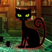WowEscape - Halloween Cat House Escape
