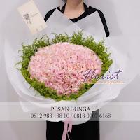 buket bunga special, bunga valentine, buket bunga valentine, handbouquet bunga special 100 tangkai, toko bunga valentine, toko bunga di jakarta, florist