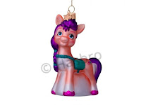 My Little Pony Sunny Starscout Glass Ornament by Vondels