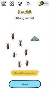 Hitung Semut di Brain Out