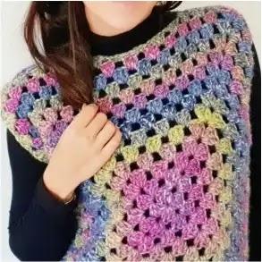 Slipover o Chaleco a Crochet