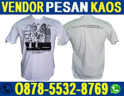 Jasa Konveksi Kaos Oblong Sablon, Poloshirt Bordir Murah di Surabaya