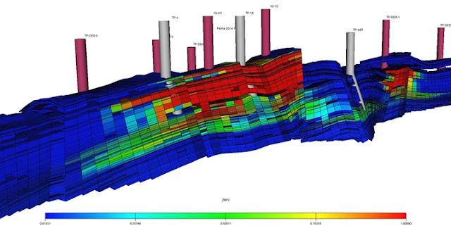 En yacimientos de gas con empuje hidráulico los factores de recobro son siempre bajos, este arículo explica como determinarlo usando la EBM.