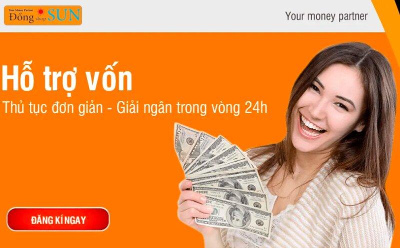 Hướng dẫn cầm đồ Đồng Shop Sun, vay tới 30 triệu, nhận tiền trong ngày