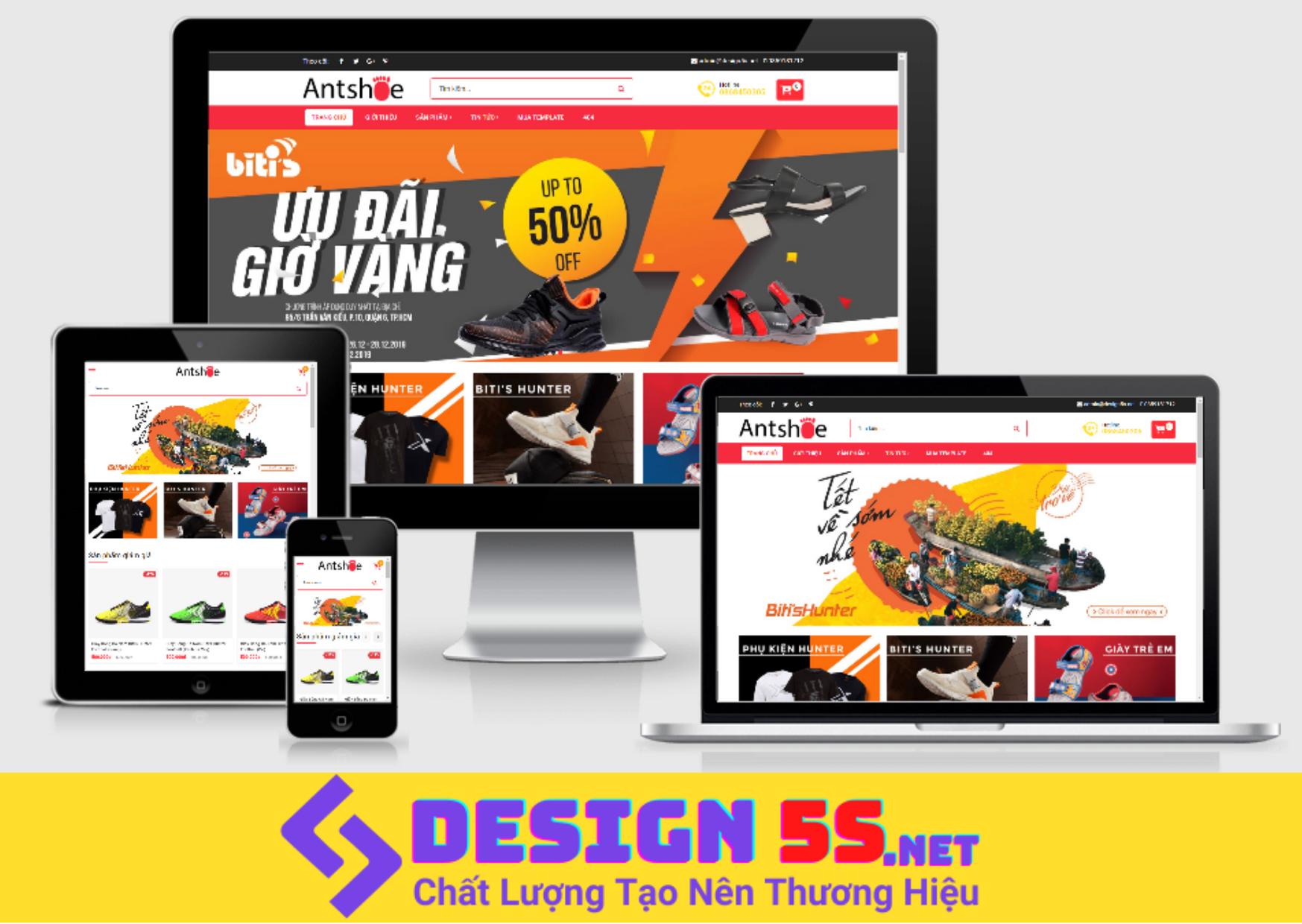 Tải và cài đặt template blogspot bán giày mã: VSM15 - Ảnh 2