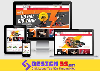 Tải và cài đặt template blogspot bán giày mã: VSM15 - Ảnh 1