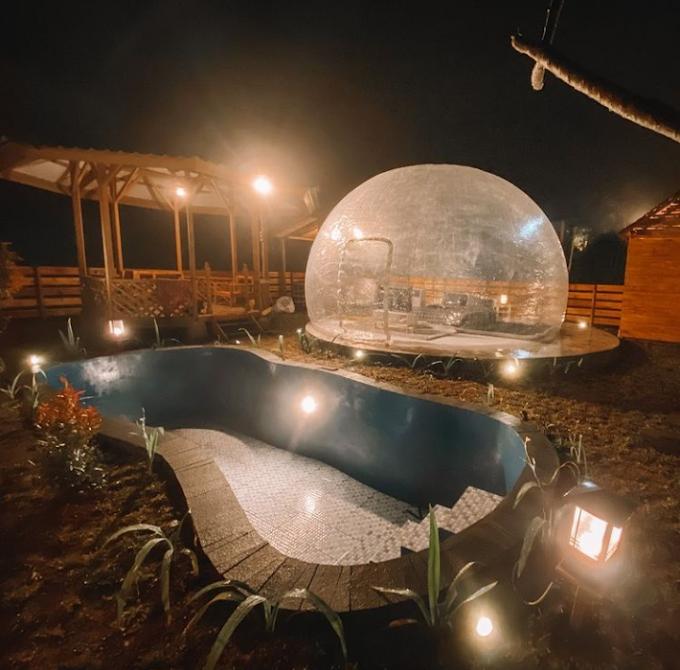 Di Booba Glamping Tidur Ala Jepang Sambil Memandang Indahnya Langit