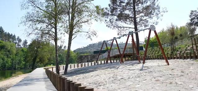 Parque Infantil da Praia Fluvial do Rabaçal
