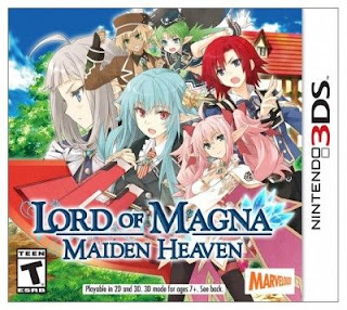 Lord of Magna: Maiden Heaven, 3DS, Español, Mega, Mediafire