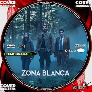 GALLETA ZONA BLANCA - ZONA BLANCHE TEMPORADA 1 2017[COVER DVD]