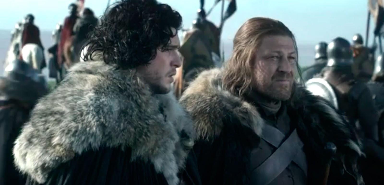 Jon Ned Game of Thrones