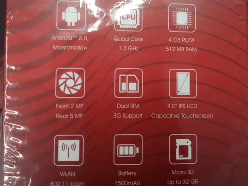 Cherry Mobile Desire R7 Specs