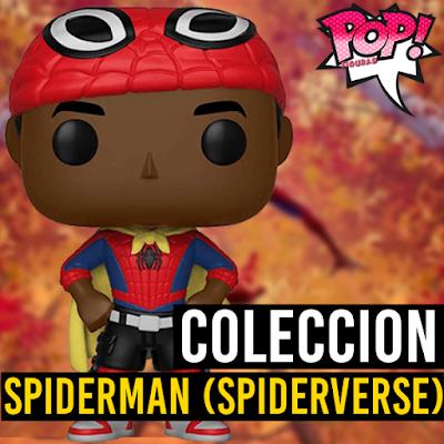 Lista de figuras funko pop de Funko POP Spiderman Un nuevo universo