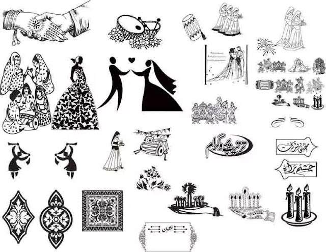 Wedding Template Cdr Format Free Download 2019 Vector Inqalabgraphics
