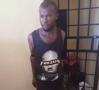 Police Arrests Man Who Killed Kills His Four-Year Old Son in Anambra. PHOTOS