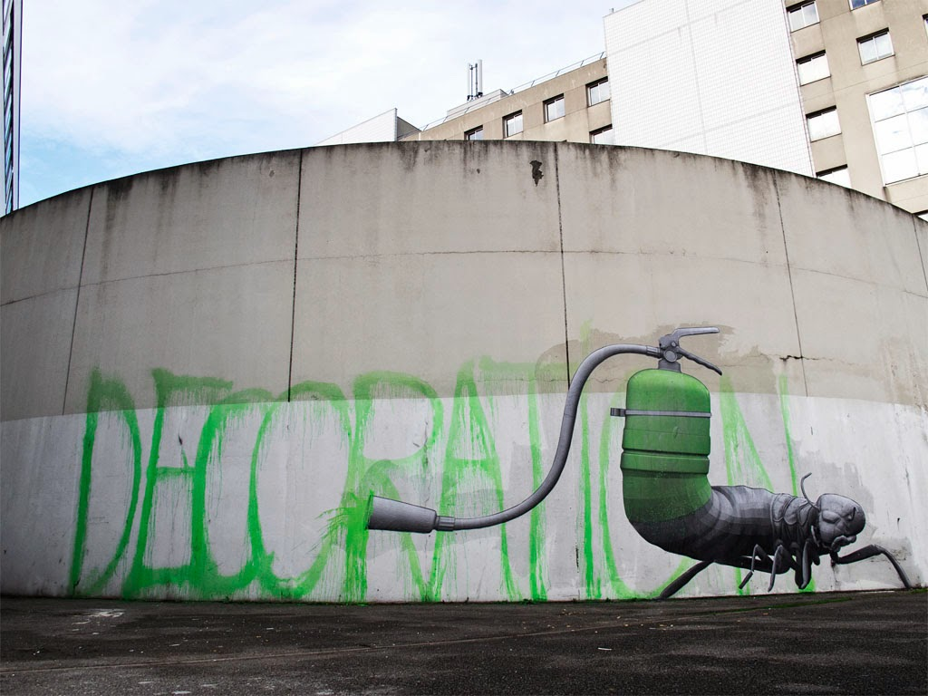 ludo decoration new street art paris france streetartnews streetartnews. Black Bedroom Furniture Sets. Home Design Ideas