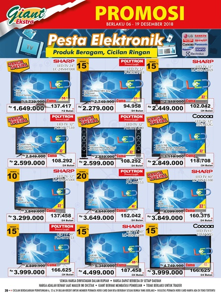 promo elektronik giant