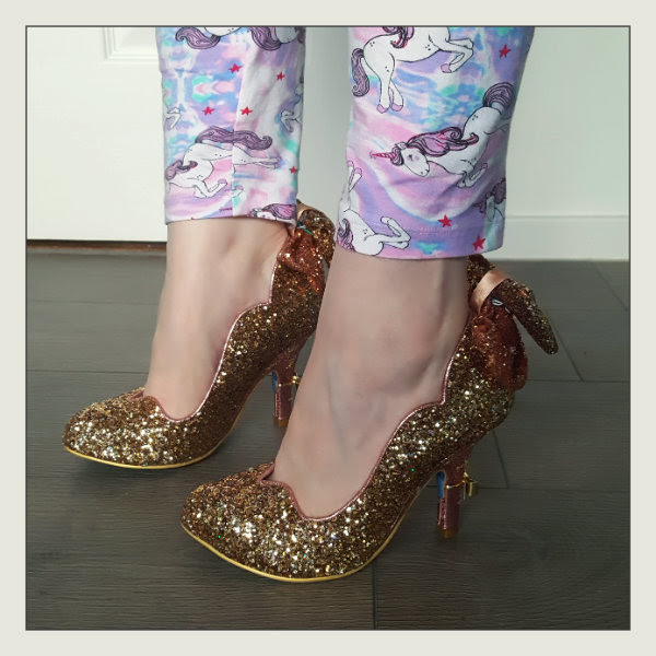 wearing irregular choice gracious dreamer shoes