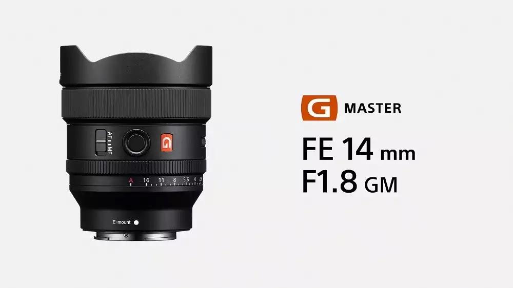 Sony FE 14mm F1.8 G Master Prime