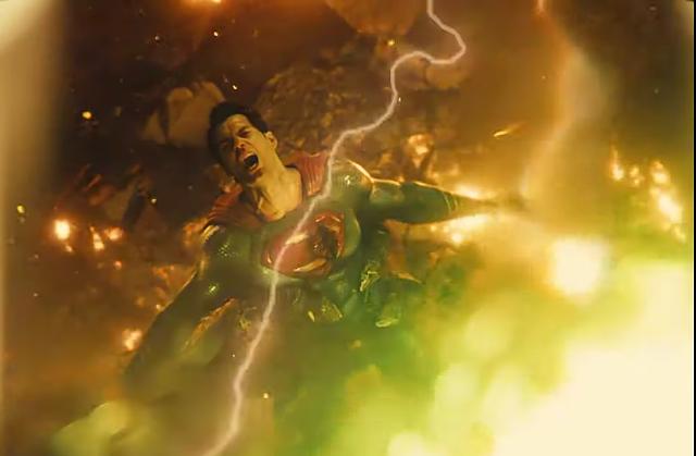 Zack Snyder's 'Justice League' Trailer Superman vs darkseid