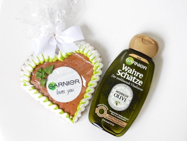 Garnier Wahre Schätze Der wohltuende Vitalisierer Mythische Olive Shampoo