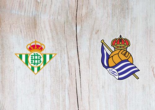 Real Betis vs Real Sociedad - Highlights 19 January 2020