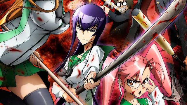 En que manga continua el anime Highschool of the Dead