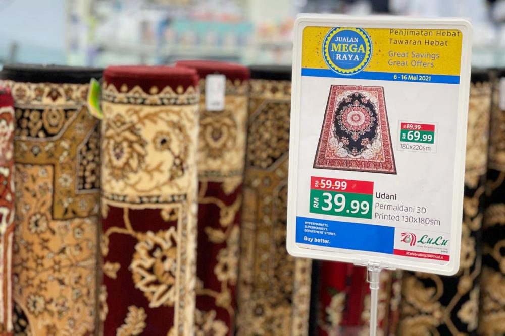 The Big Eid Sale, LuLu KL, LuLu Shamelin, LuLu Setia City One, Jom Ke LuLu, Beli Online, Rawlins Lifestyle, Rawlins GLAM
