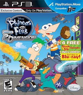 Phineas and Ferb Across the 2nd Dimension PS3 Torrent