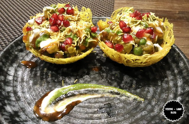 Tokri Chaat @ Made In Punjab | UB City | Bangalore
