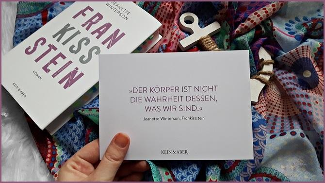 Rezension Frankissstein Eine Liebesgeschichte Jeanette Wintersen Kein & Aber