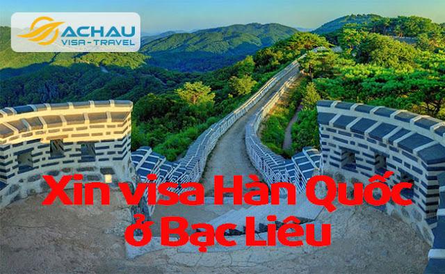 Xin visa Hàn Quốc ở Bạc Liêu như thế nào ?