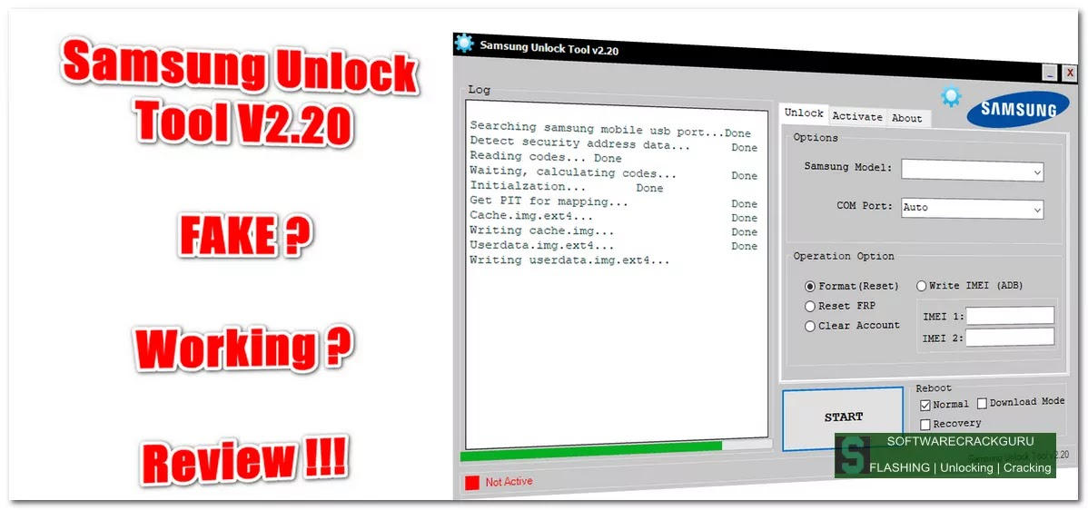SAMSUNG Unlock Tool V2.20.11.4 Full Crack Working Condition Download Free