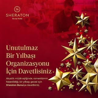 Sheraton Hotel Bursa Yılbaşı Programı 2020 Menüsü