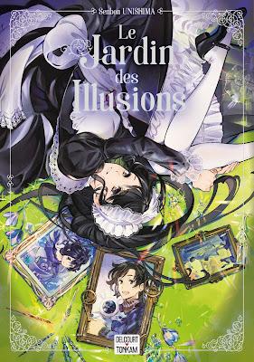 """couverture de """"LE JARDIN DE SILLUSIONS"""" de Senbon Umishima chez Tonkam Delcourt"""