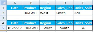 What is Advance Filter in Excel