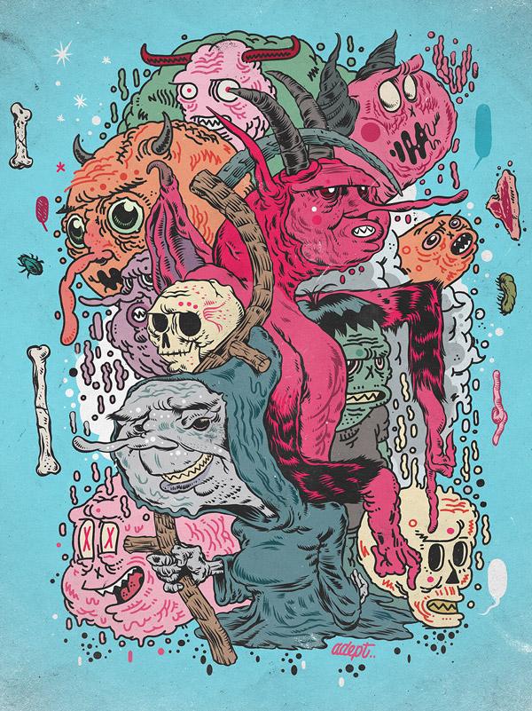 Иллюстратор Andres Guzman 28