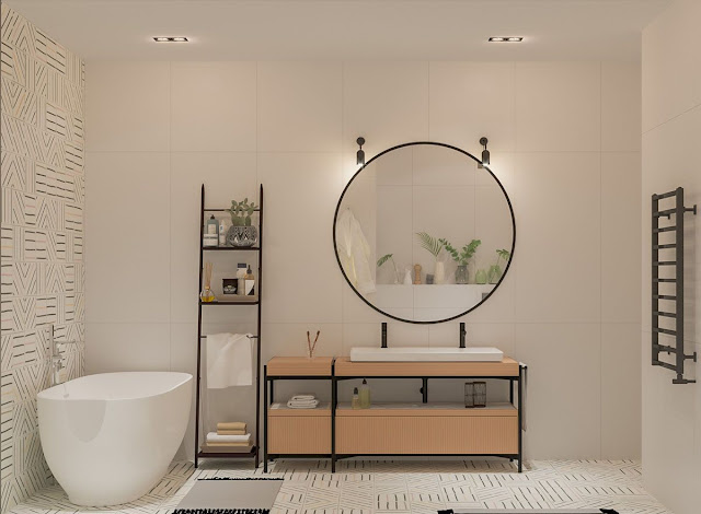 Modern Bathroom Tiles Design Ideas
