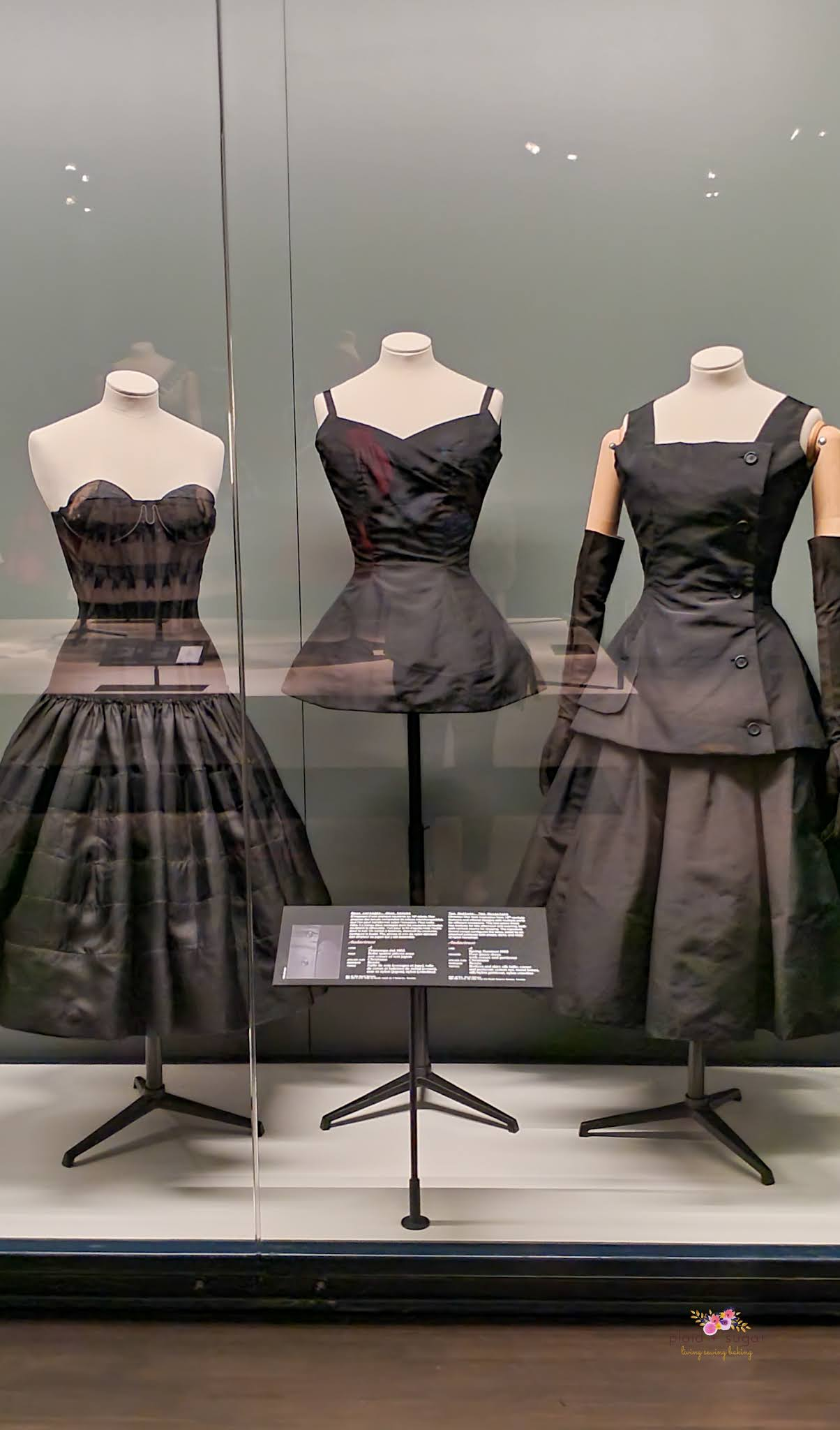 Undergarments revolutionized by Christian Dior for the New Look,  Dior Exhibit by Plaid and Sugar