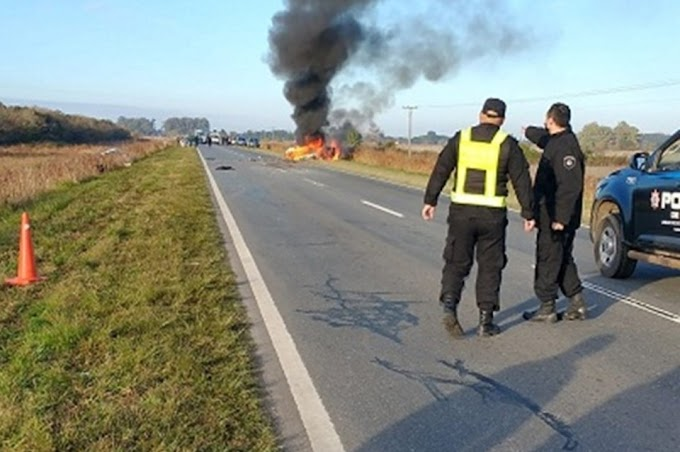 Choque fatal en ruta 11: dos muertos y un pueblo de luto