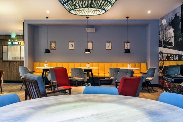 Qbic hotel london restaurant