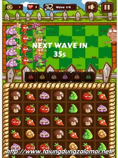Game đại chiến hoa quả