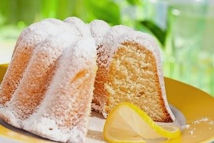 Budin ingles de limon