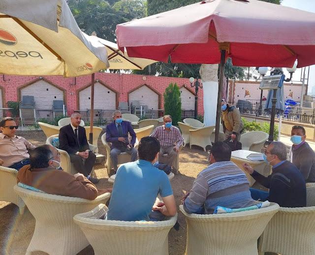 مجلس ادارة إتحاد المهن الطبية يجتمع لمناقشة كيفية مواجهة فيروس كورونا