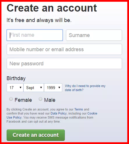 how to open a new account