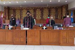Safaruddin Bandaro Rajo Ikuti Peringatan Hari Lahir Pancasila dari Lima Puluh Kota Secara Virtual